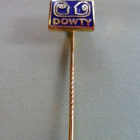 Dowty Lapel Pin