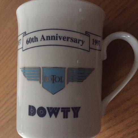 Dowty Rotol 60th Anniversary Mug