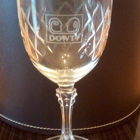 Dowty Anniversary Wine Glass