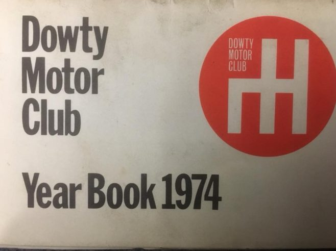 Dowty Motor Club - Year Book 1974 | J W Redfern