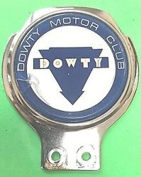 Dowty Motor Club Car Badge