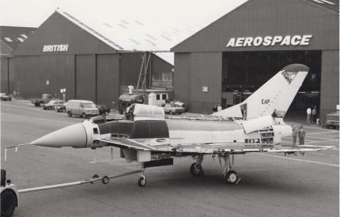 Experimental Aircraft Programme (EAP) 1985