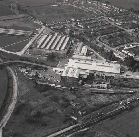 Aerial photo of Dowty Mining Equipment - Ashchurch, nr Tewkesbury