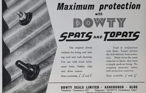 Dowty Spat Washers