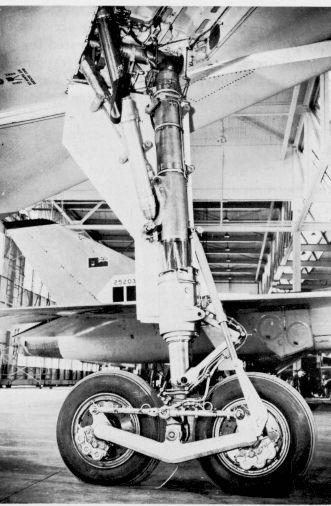 Avro Arrow - Main Gear On Wing