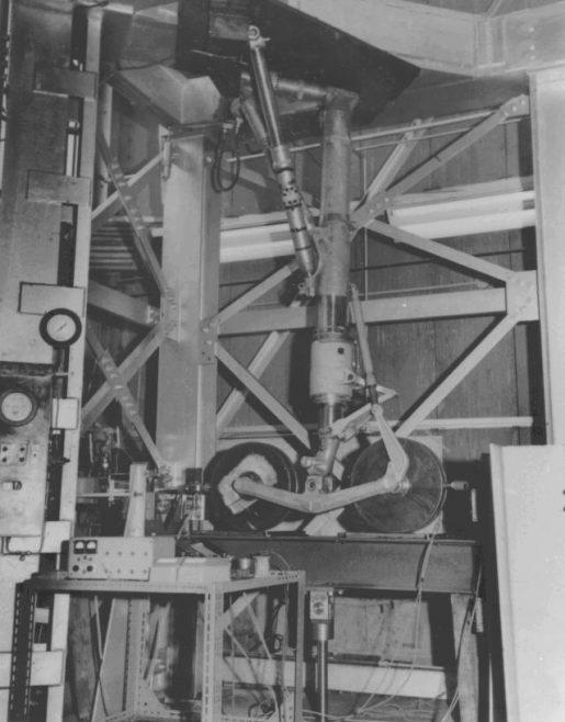 Avro Arrow - Main Gear Vibration Rig
