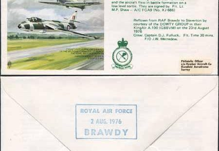 Sir Sydney Camm -  Anniversary Day Cover