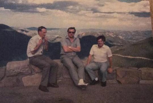 Colin Thornton; Doug Stuart & Tim Davis Denver 1984 | Colin Thornton