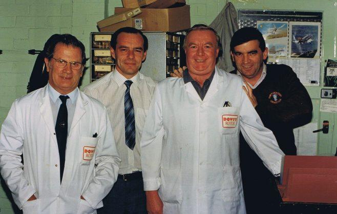 Ernie Roberts; Tony Hickey; Tony Turk and Brian Tarren | Colin Manton