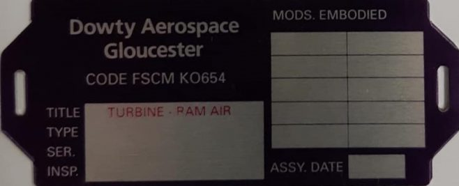 Equipment labels | Guy Preece