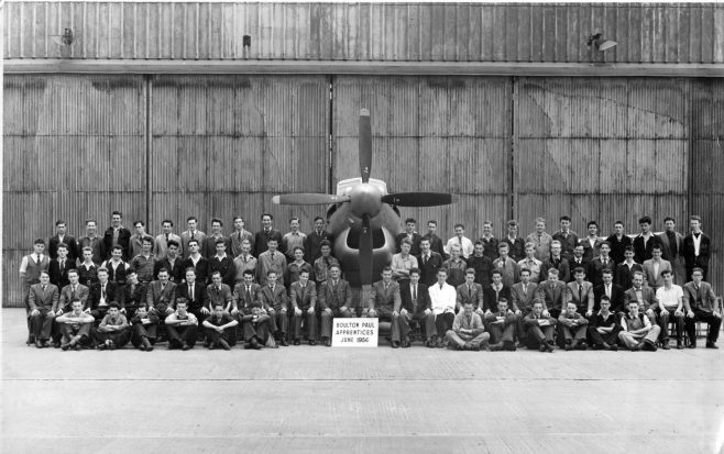 Boulton Paul 1956 Apprentices | John Edwards