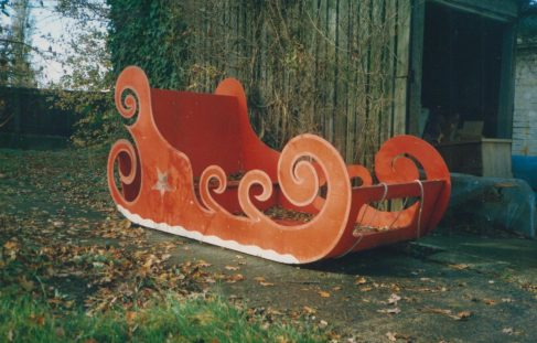 Arle Court - Christmas Sledge