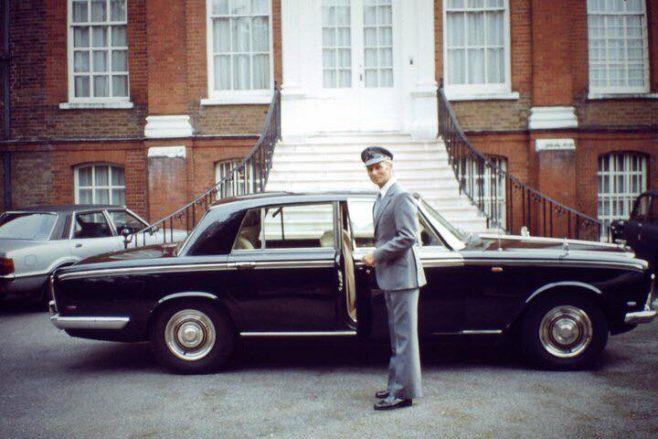 Ron Franklin - Dowty Chauffeur c.1970 | Karen Babbage