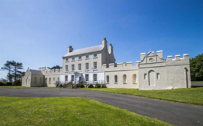 Balladoole House was Sir George and Lady Dowty's house on the Isle Of Man