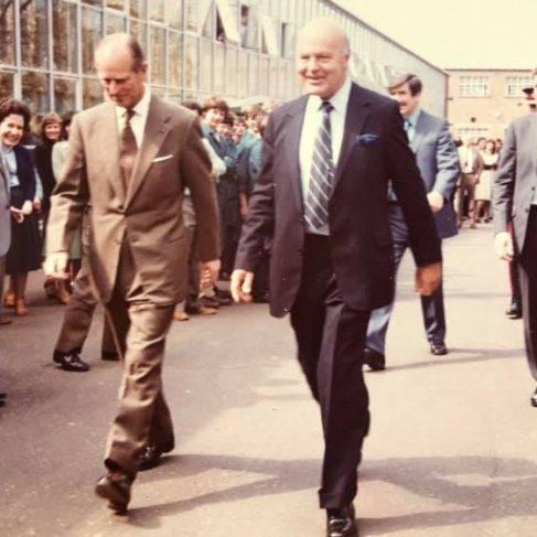 Dowty Fuel Systems - Visit of Duke of Edinburgh at Arle Court | Karen Babbage
