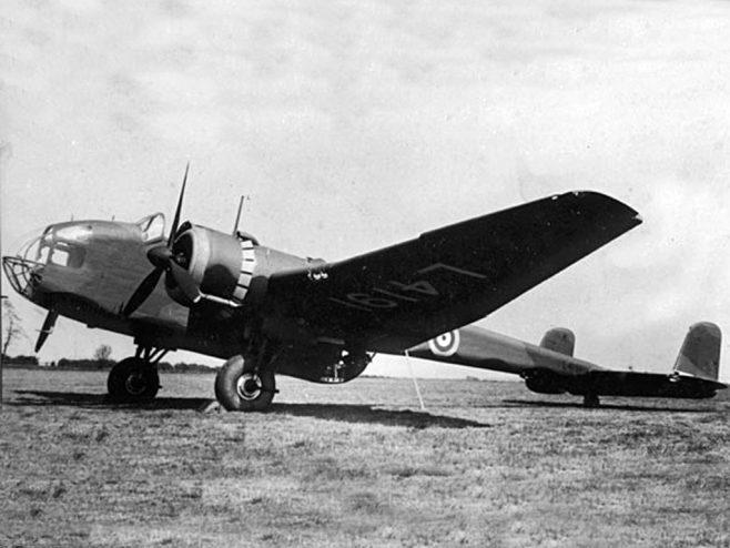 Handley Page Hampden Bomber