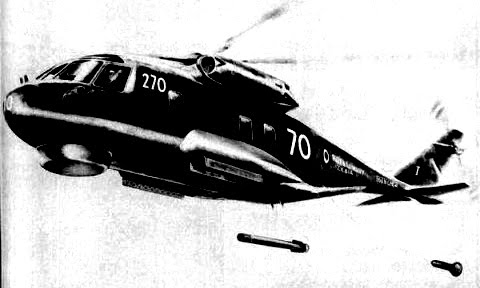 Westland Helicopters  WG.34 helicopter (Anti-submarine warfare (ASW) helicopter project)