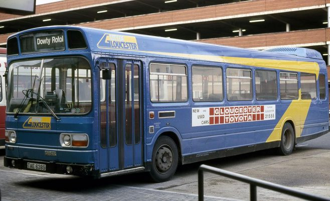 Dowty Rotol - Works Charter Bus
