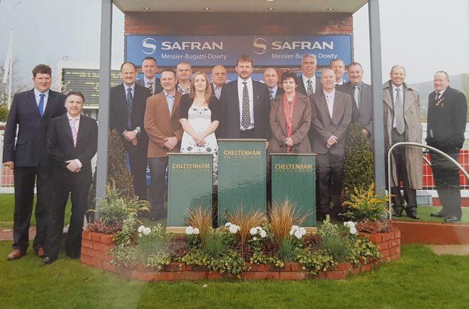 30 year award Chetenham Races April 2013 | Paul Faulkner