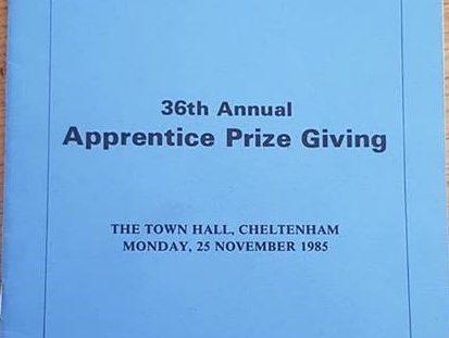 Apprenticeship Prizegiving - 1985