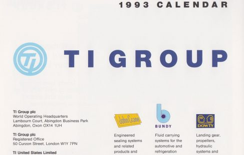 TI Group Calendar 1993