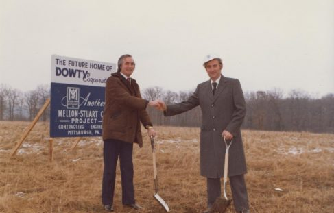 Dowty Corporation USA - Construction of Site 1981