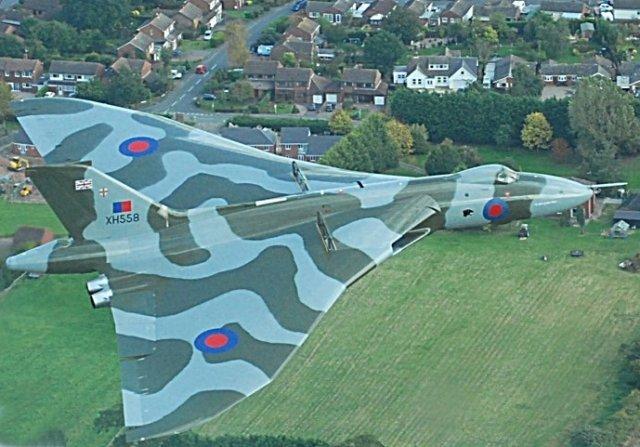 Avro Vulcan XH558 Staverton