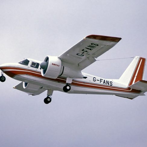 Dowty Aircraft G-FANS - Britten Norman Islander with Dowty ducted turbofans