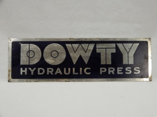 Dowty Hydraulic Units - Press Label