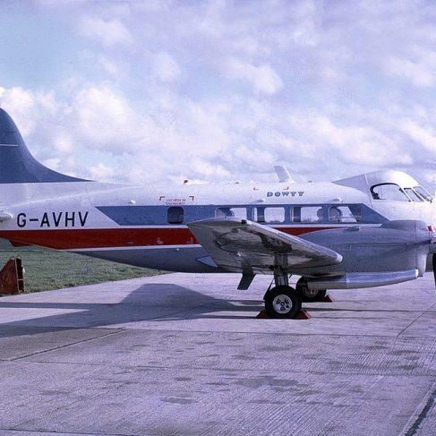 Dowty de Havilland Dove G-AVHV