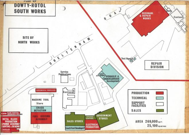 Dowty Rotol - South Works site layout | John Herring