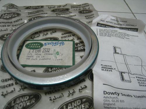 Dowty Seals - Land Rover Defender rear crankshaft oil seals