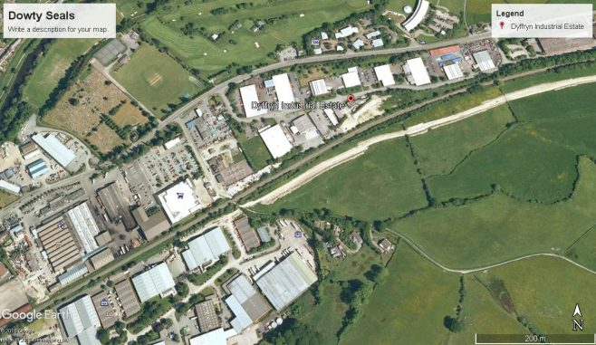 Dowty Unit 55 - Dyffrryn Industrial Estate, Newtown, Powys, Wales | Google Maps