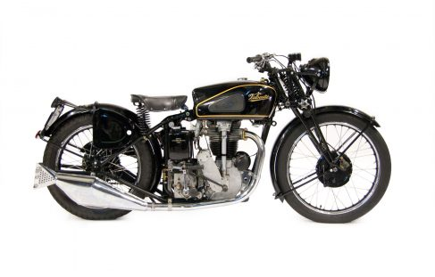Velocette Motorcycles - Air Suspension