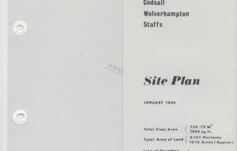 Dowty Boulton Paul - Site Plans
