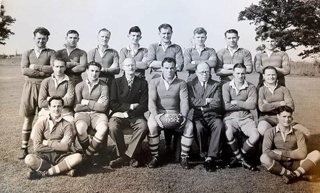 Dowty Rotol Rugby Team 1951-52 | Steve Hewlett