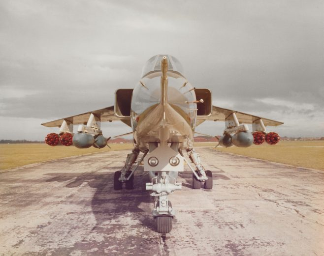 BAC Jaguar BAC Military Aicraft Division ref : AW CN 1170 | Gary Sutton
