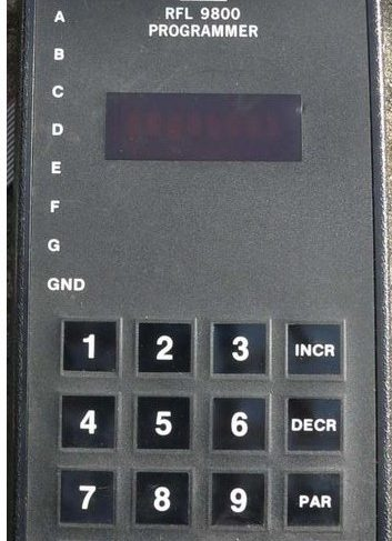Dowty 9800 DSP Programmer