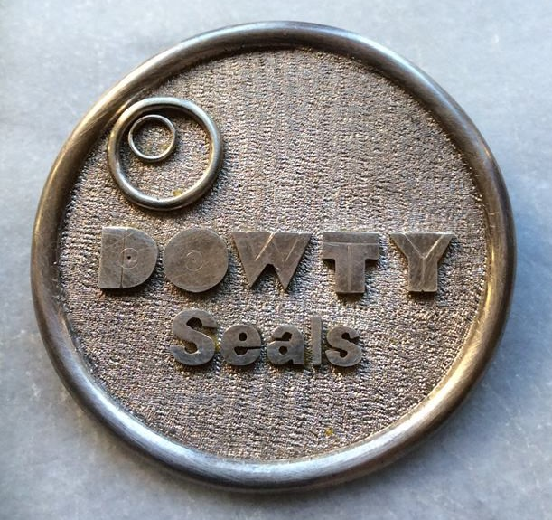 Badge made by Dowty Seals Apprentices