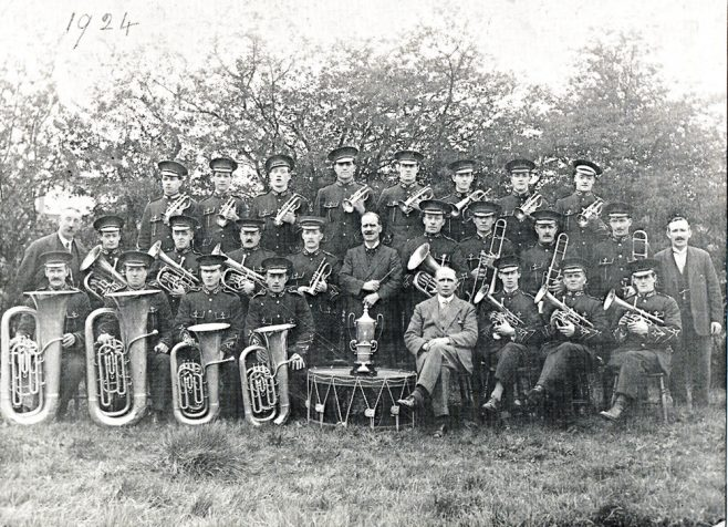 The Desford Colliery Dowty Band - The Band in 1924 | The Desford Colliery Dowty Band