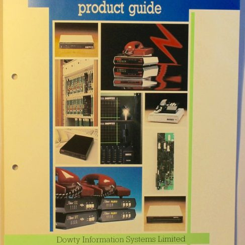 Dowty Information Systems - Data communications product guide