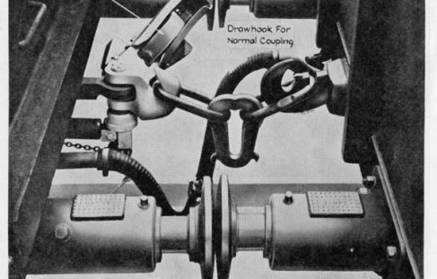 British Railways - Dowty Automatic Couplers