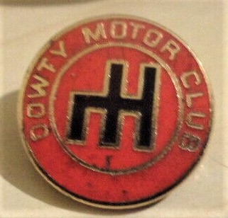 Dowty Motor Club lapel badge