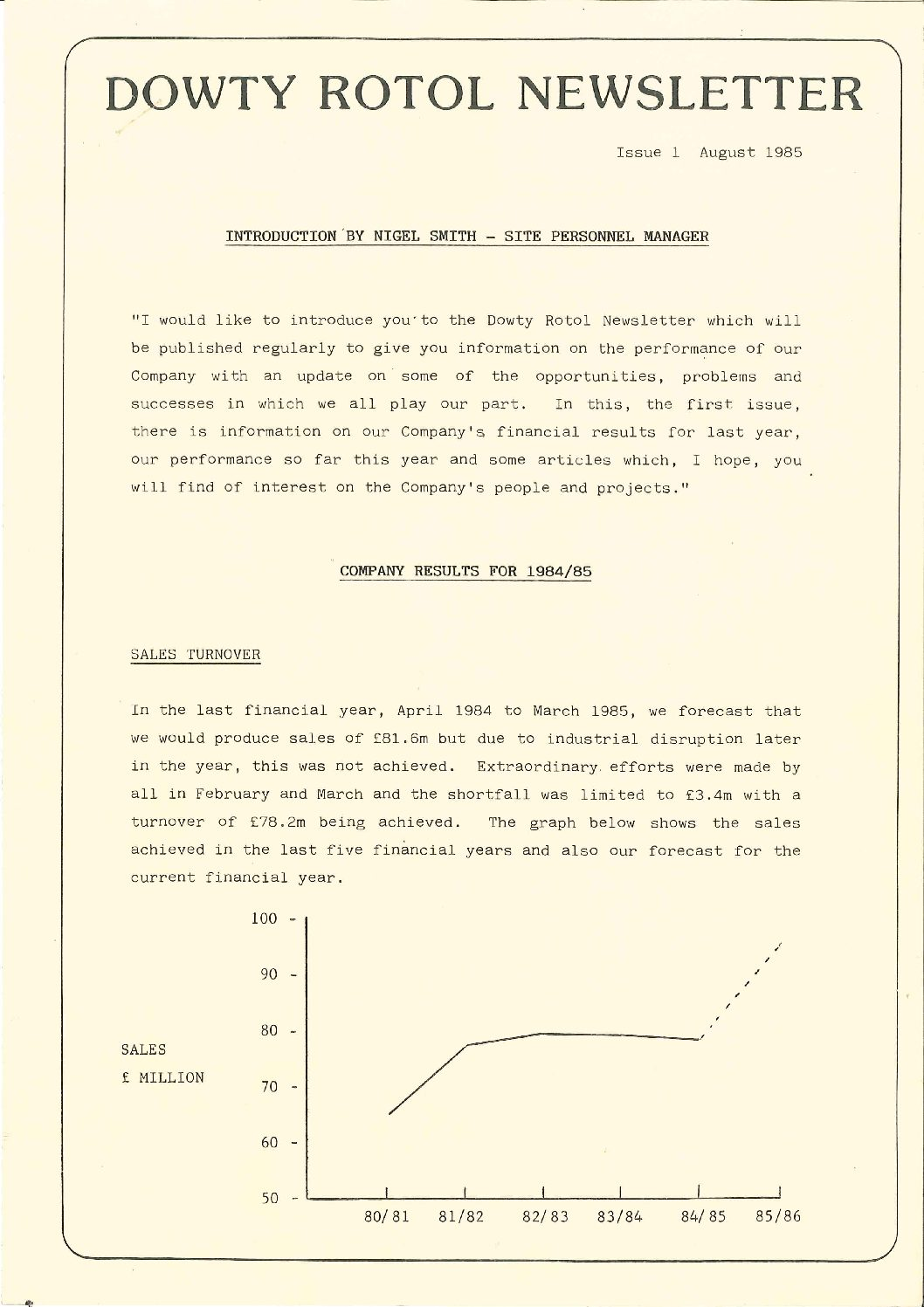 Dowty Rotol - Newsletters