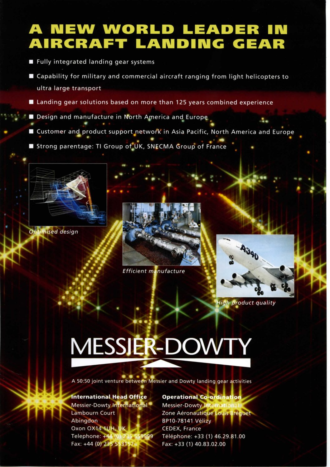 Messier Dowty - Brochures