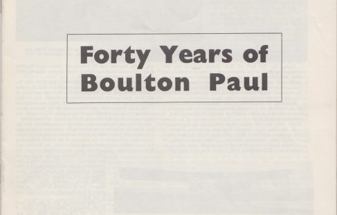 Forty Years of Boulton Paul Aircraft