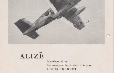 "The Anglo-French ""Alize"" Sub Killer"