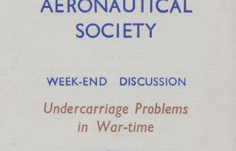Royal Aeronautical Society - Weekend Discussion at Arle Court
