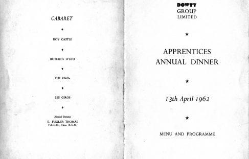 Apprentice Annual Dinner - 1962 & 1963