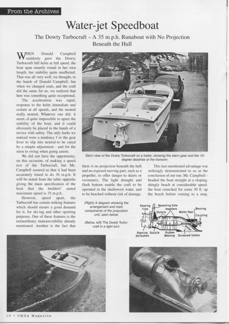 Dowty Turbocraft 1960 The Motor Boat Mag_page-001 | Adrian Waddams CEng FIMechE MRINA